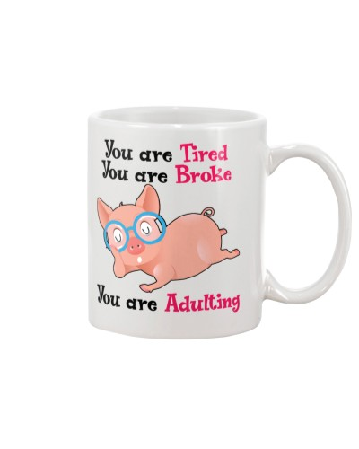 Pig you are adulting