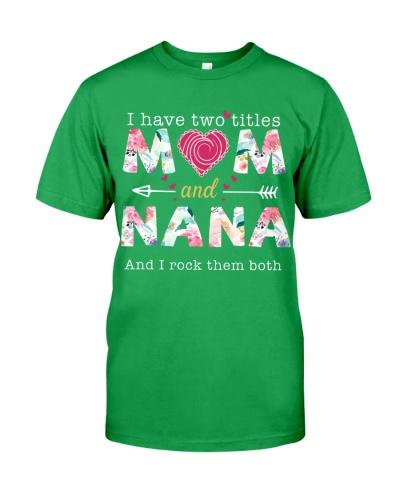 sn 5 nana and mom shirt