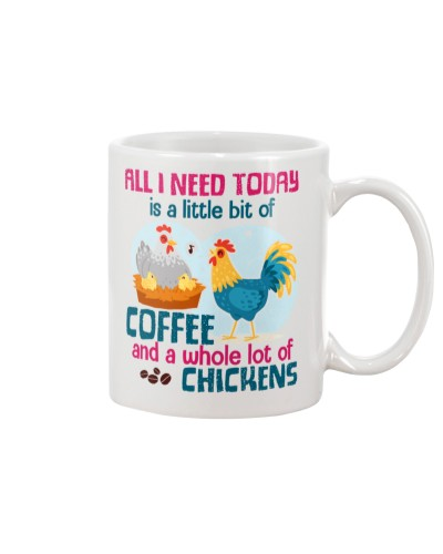 Chicken  and coffee mug
