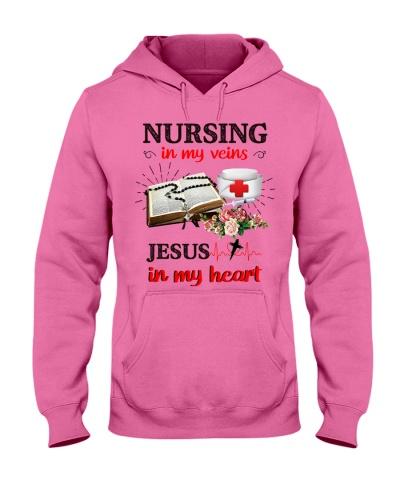 SHN Nursing my veins Jesus my heart Nurse