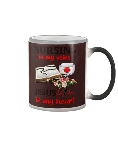 SHN Nursing my veins Jesus my heart Nurse
