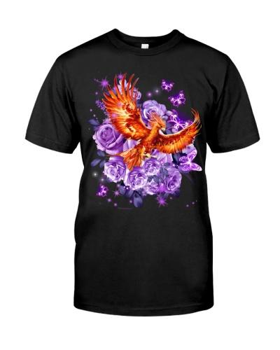 Phoenix purple flowers