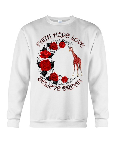 Giraffe believe dream