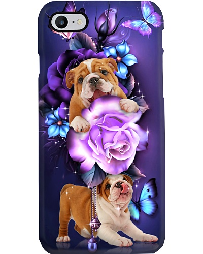 Bulldog magical phone case