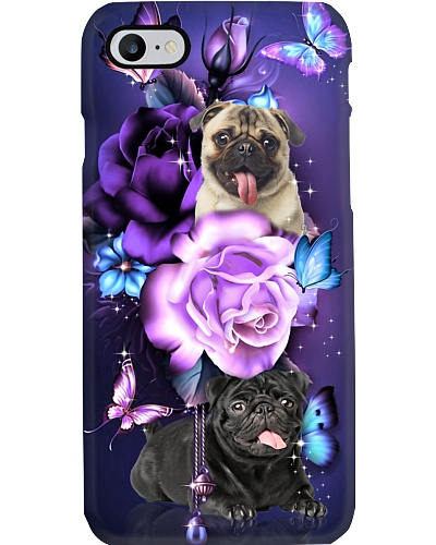 Pug magical phone case