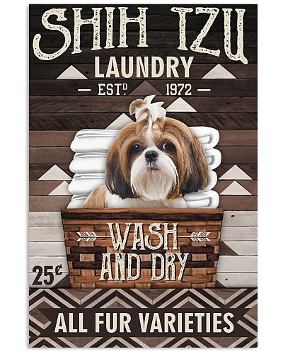 Shih tzu laundry