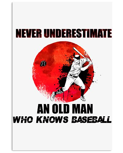 An old man who knows Baseball