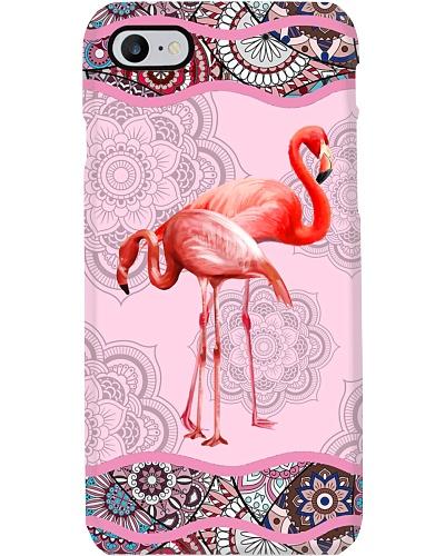 Flamingo detail pattern