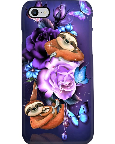Sloth magical phone case