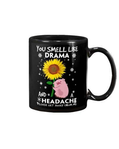 Pig like dramma mug
