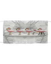 Flamingo lovely Cloth face mask front