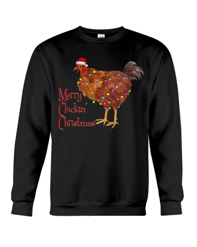 Chicken merry clucking christmas