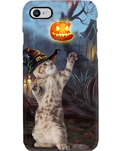 Cat halloween night case