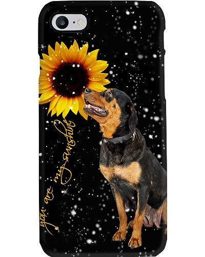 Rottweiler U r my sunshine phone case