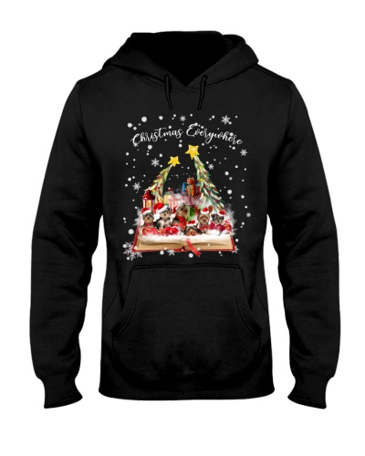 Qhn 7 Christmas Everywhere Yorkshire Hoodie