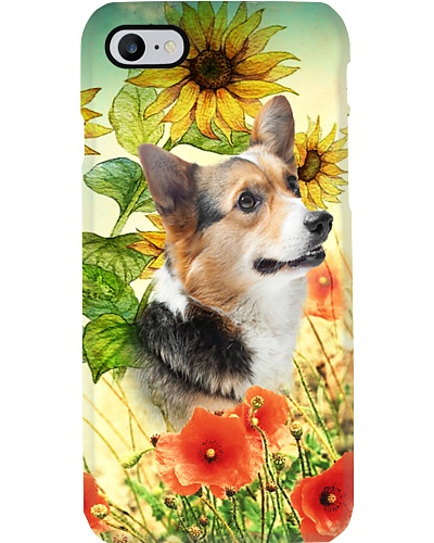Corgi lovely sunflower 123456