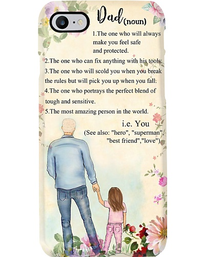 Dad the one who will always make you feel safe