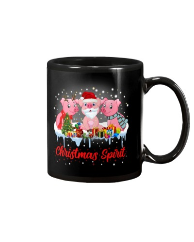 Pig Christmas Spirit