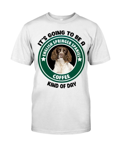 English Springer Spaniel Coffee