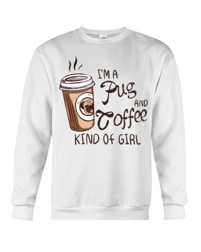 Pug and coffee kind of girl