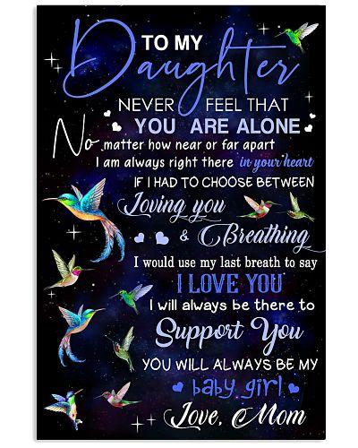 Hummingbird To my daughter