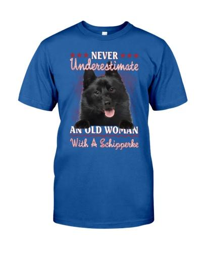 Schipperke never underestimate old woman