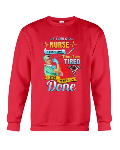 SHN I stop when I am done nurse shirt
