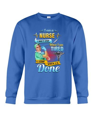 SHN I stop when I am done nurse shirt