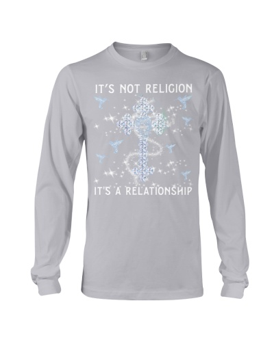 SHN Not religion a relationship Hummingbird shirt