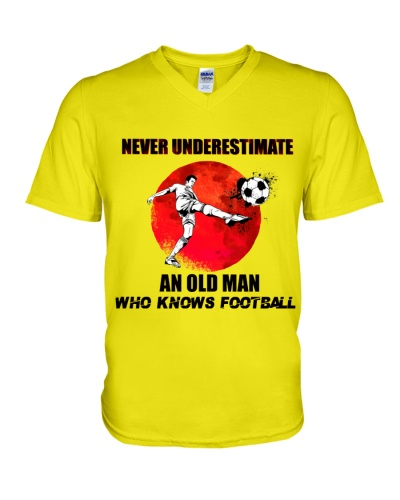 An old man who knows Football