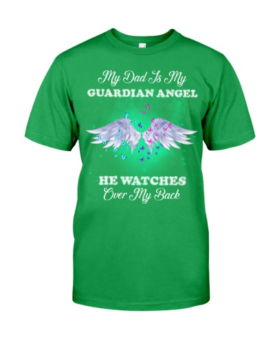 Dad and daughter my guardian angel