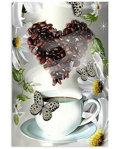 TH 5 Coffee Daisy And Butterfly