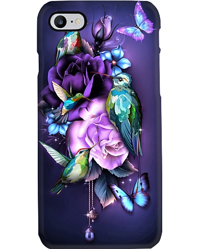Hummingbird magical phone case