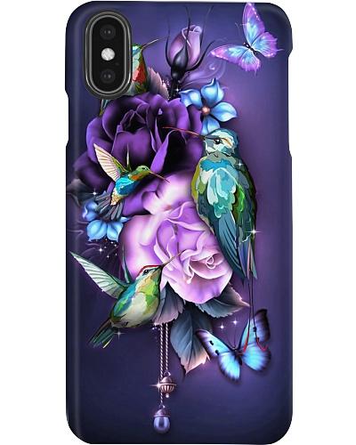 Hummingbird magical phone case