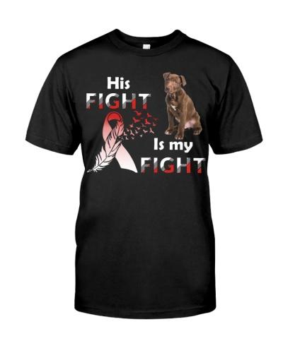 His Fight Pitbull