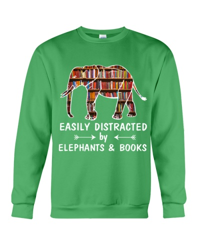 Elephant and book mug