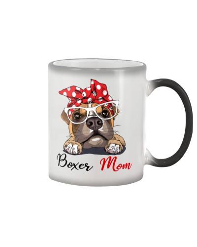Boxer Love Mom