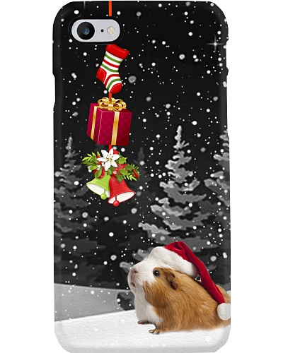 Guinea pig Christmas strip