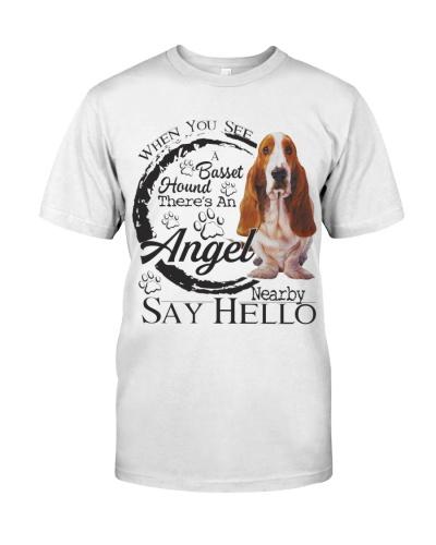 Basset Hound An Angel