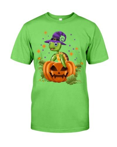 Turtle purple halloween