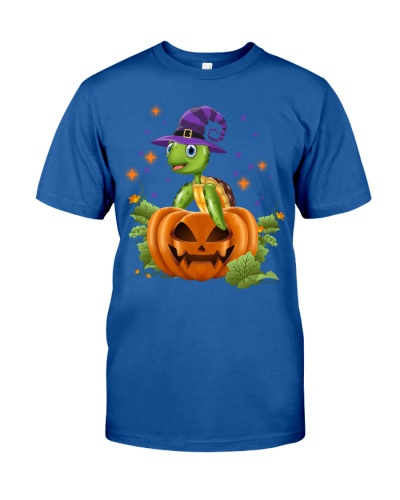 Turtle purple halloween