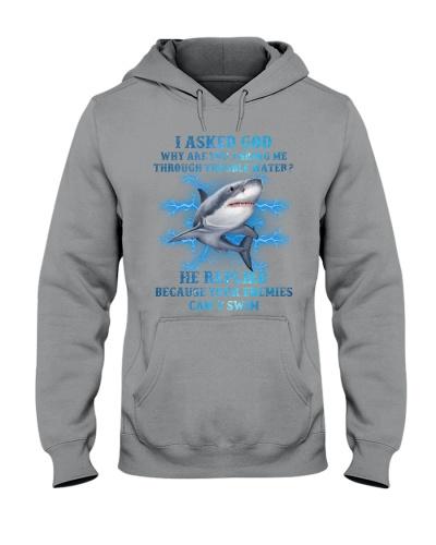 Your enemies cannot Swim Shark