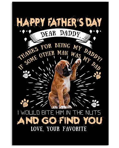 Boxer Dear Daddy