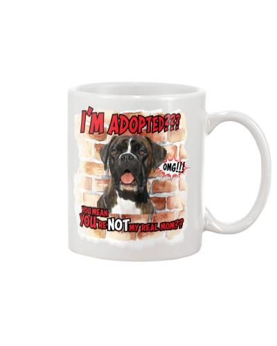 Boxer adopted mug