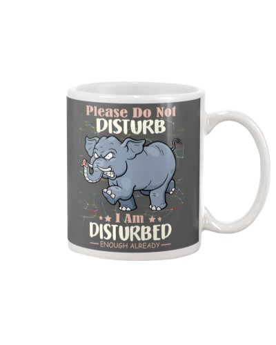 Elephant i am disturbed