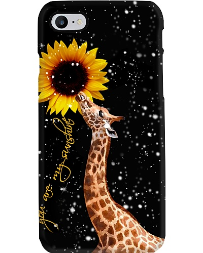 Giraffe U r my sunshine phone case
