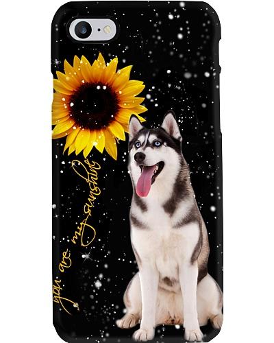 Husky U r my sunshine phone case