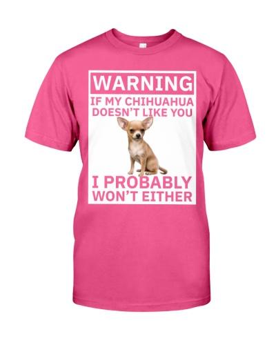 Chihuahua Warning