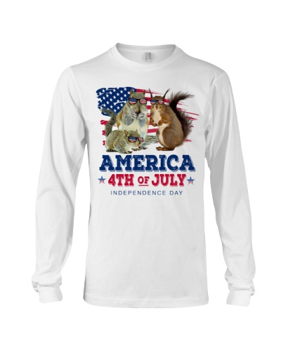 Squirrel freedom shirt