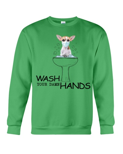 Ln  8 chihuahua wash your damn hands